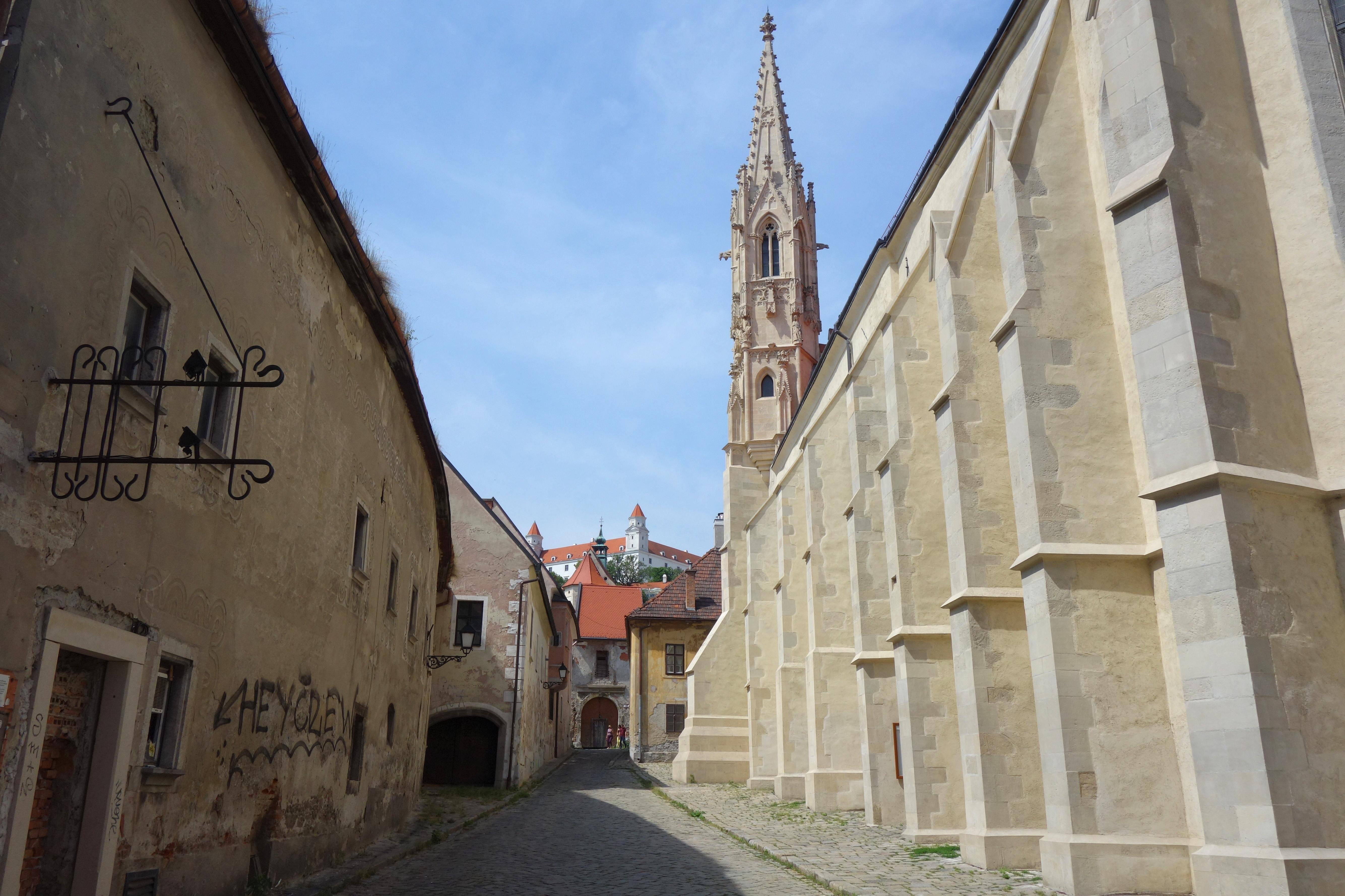 quartier de la vieille ville de bratislava