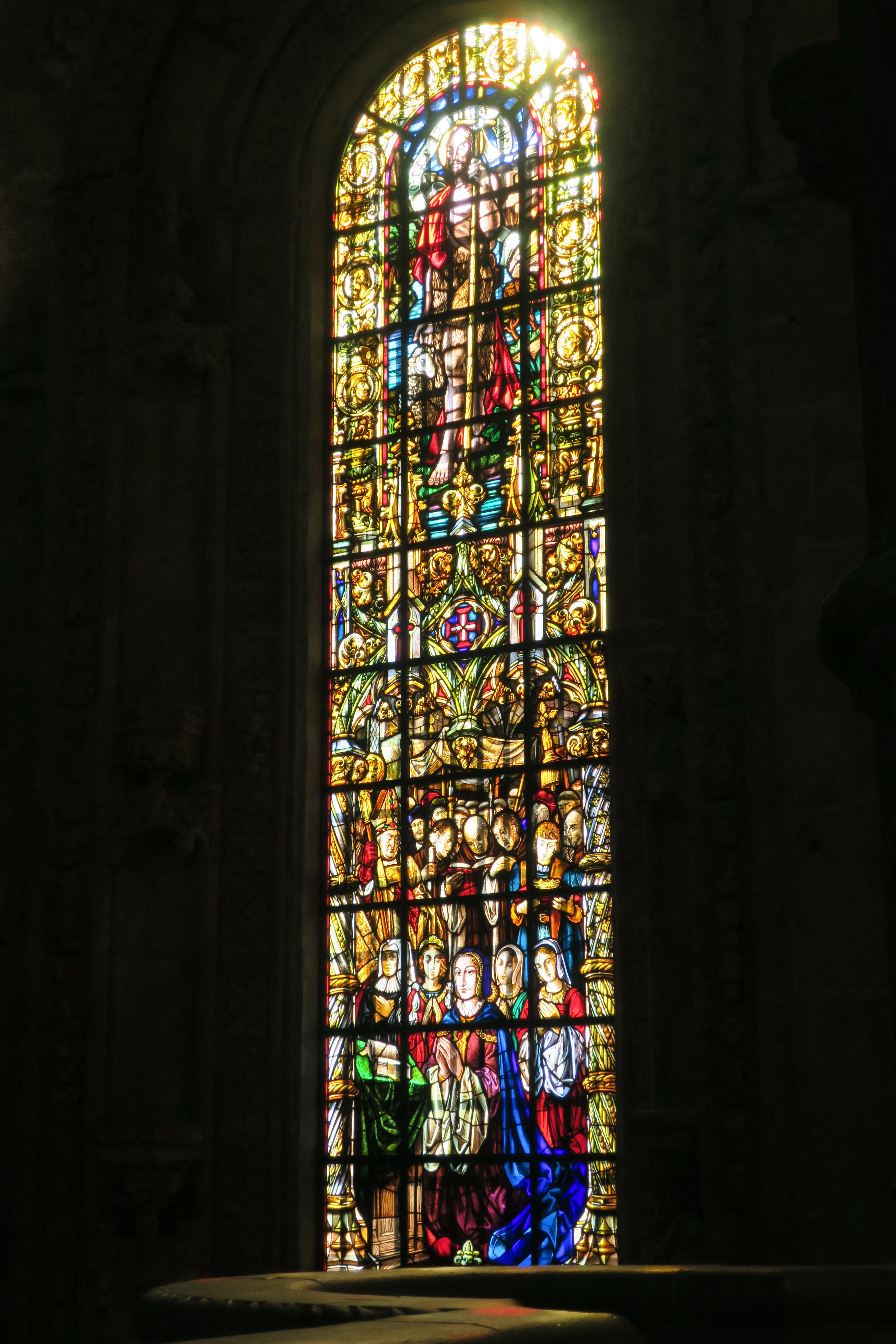 vitraux Monastère des Hiéronymites
