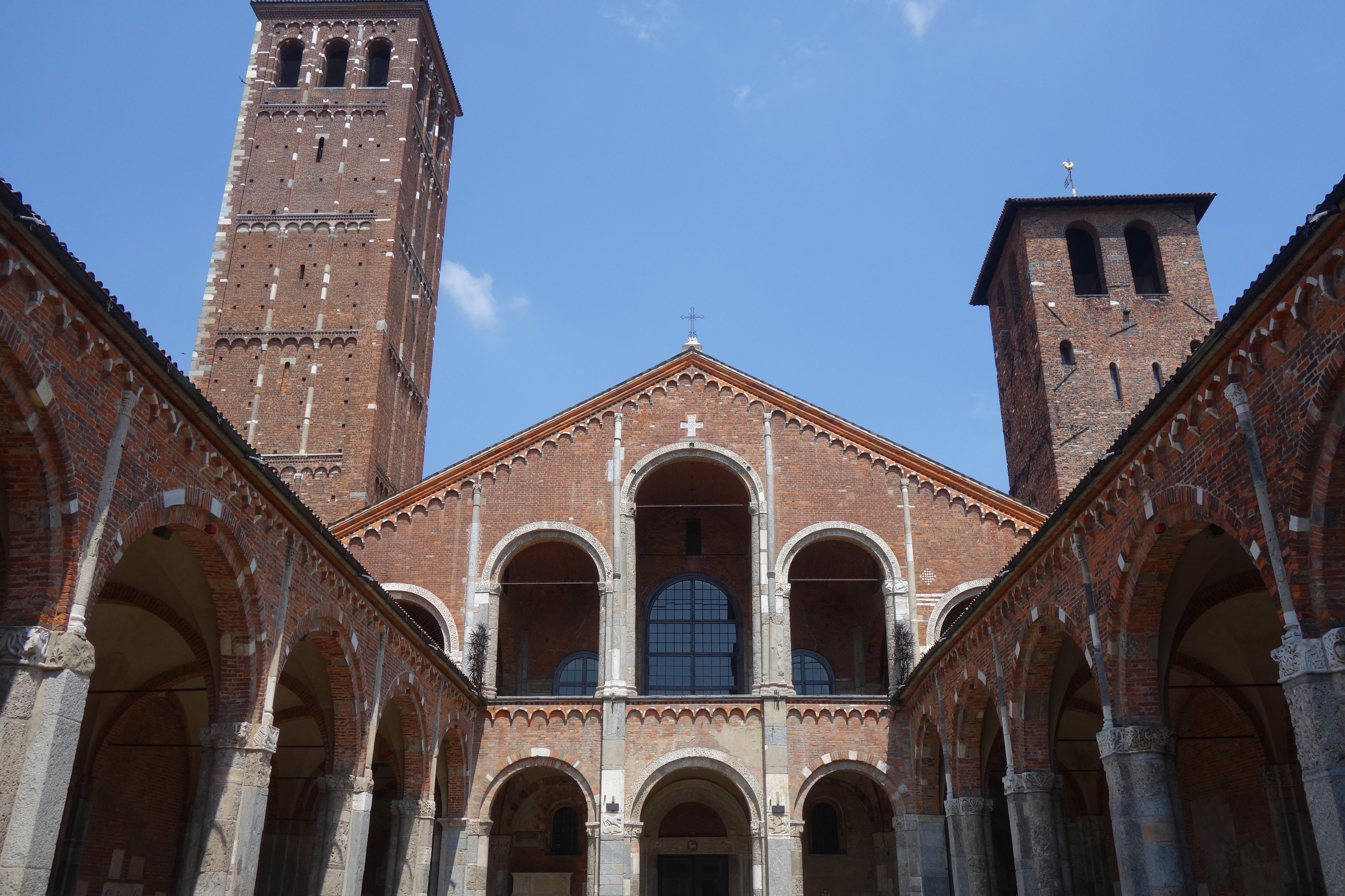 basilique saint ambroise à visiter à milan