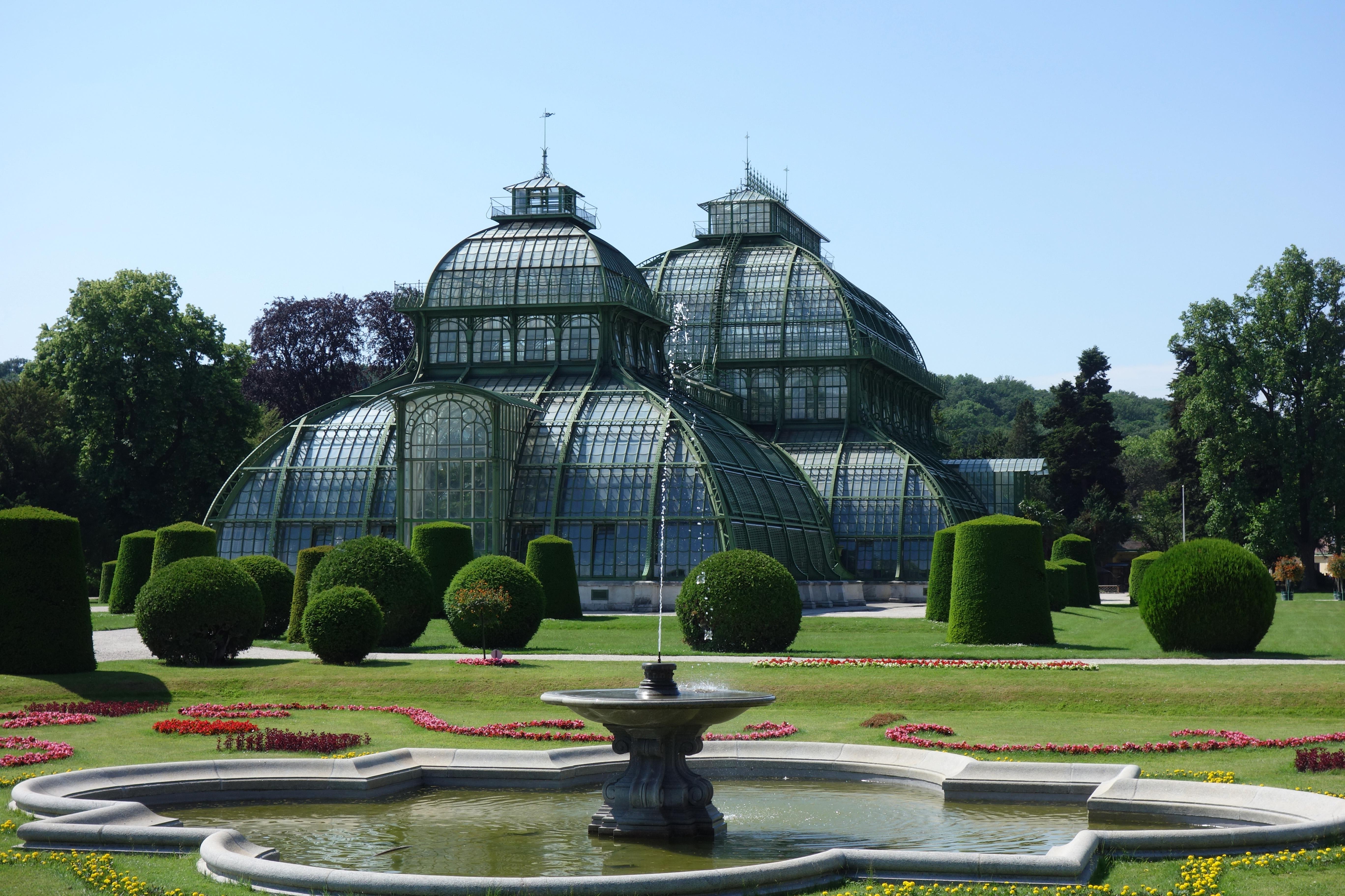 Le Château de Schönbrunn serre aux palmiers