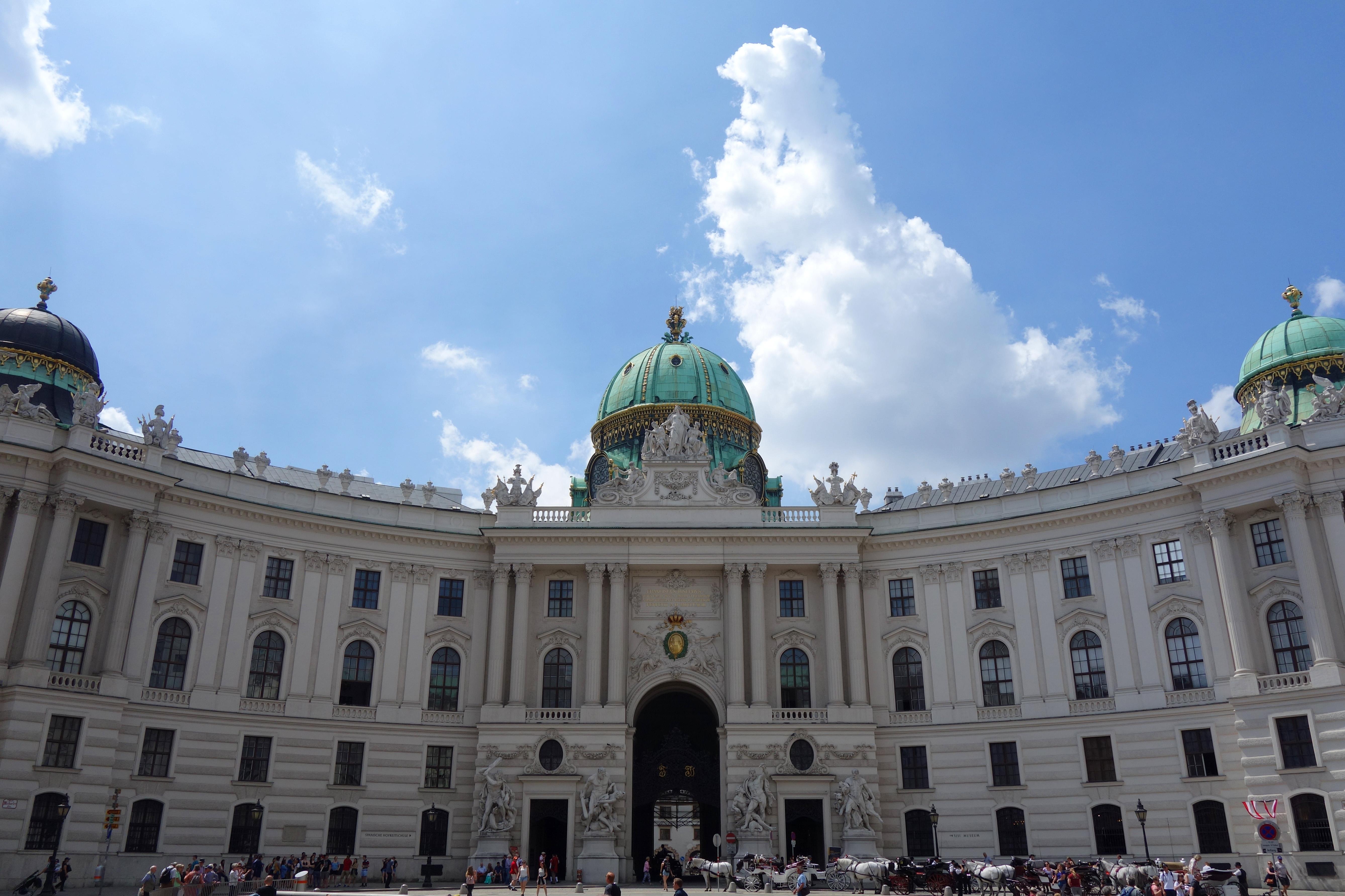 visiter vienne : le palais de hofburg