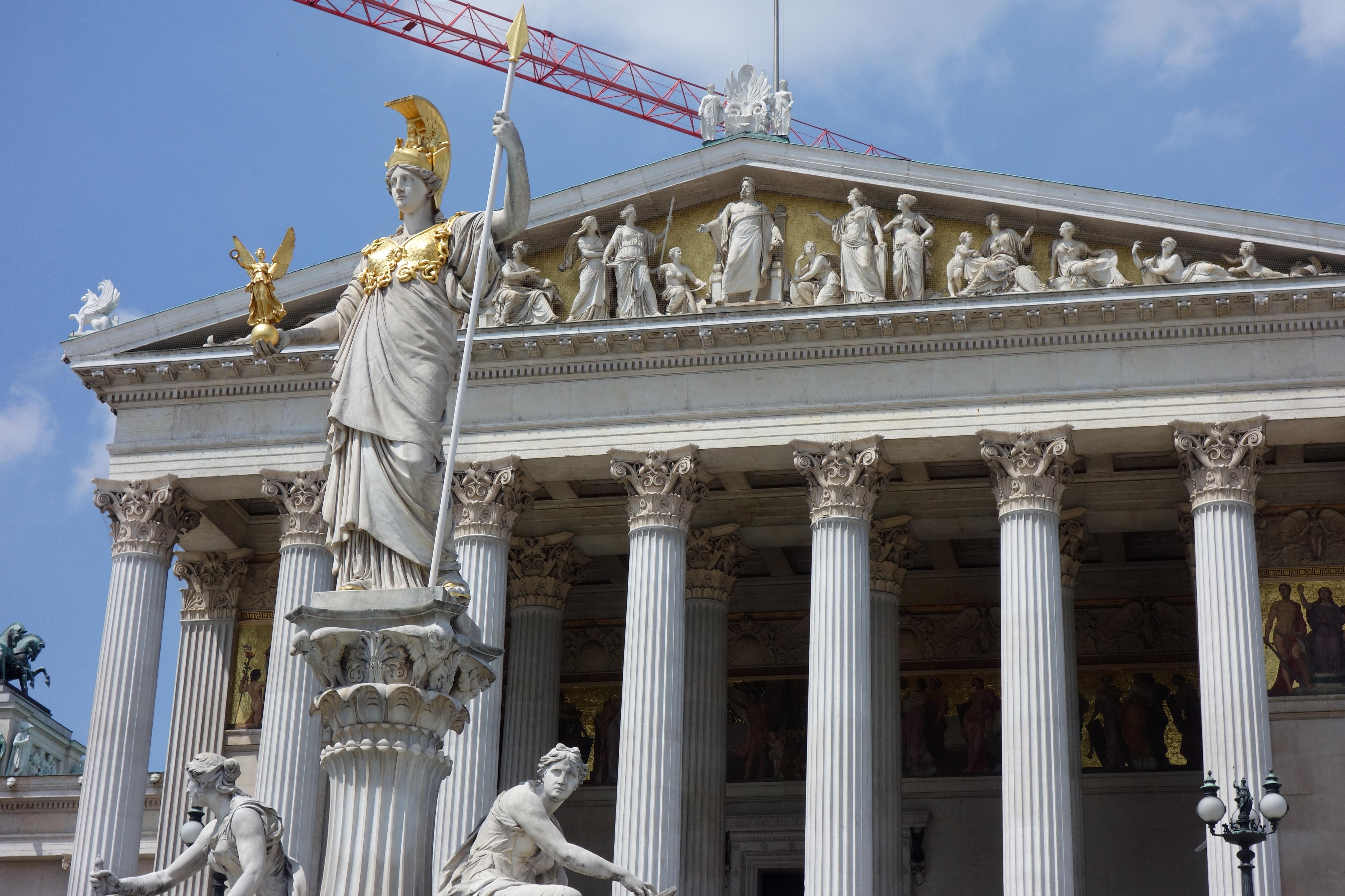 visiter vienne : le parlement d'autriche