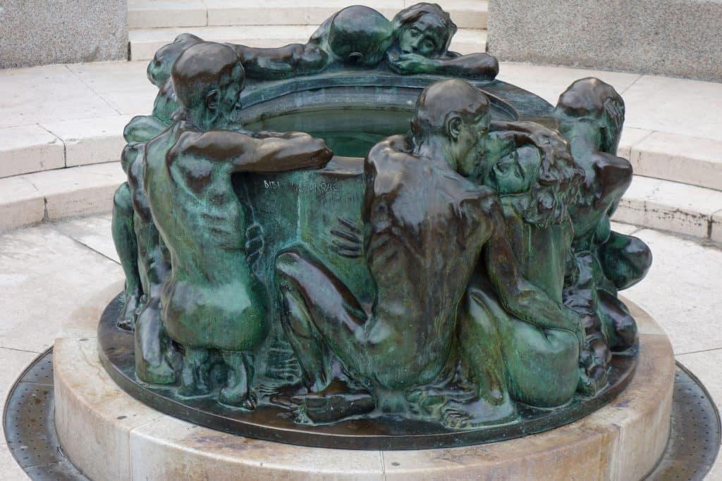 statue pittoresques zagreb