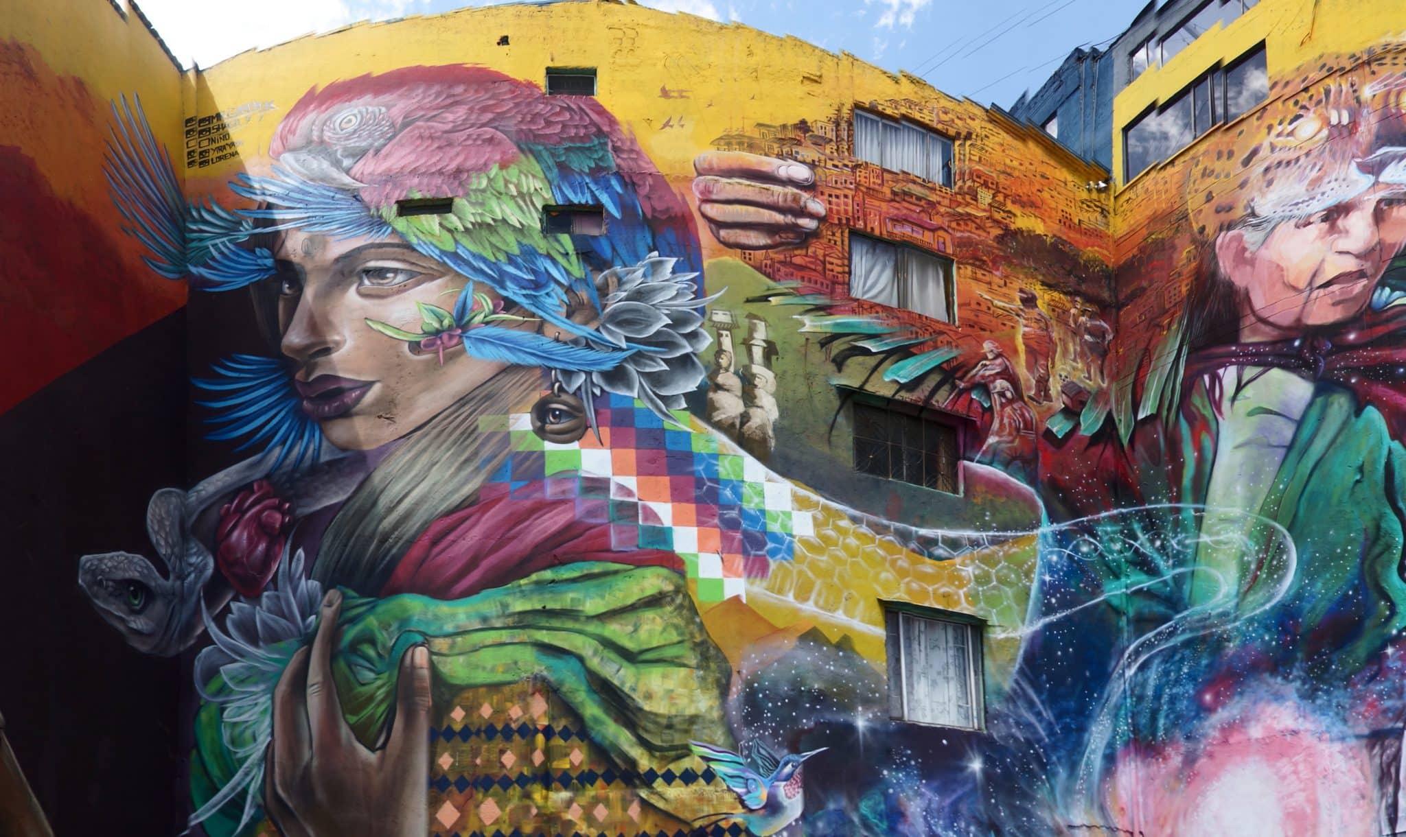 street art visiter bogota