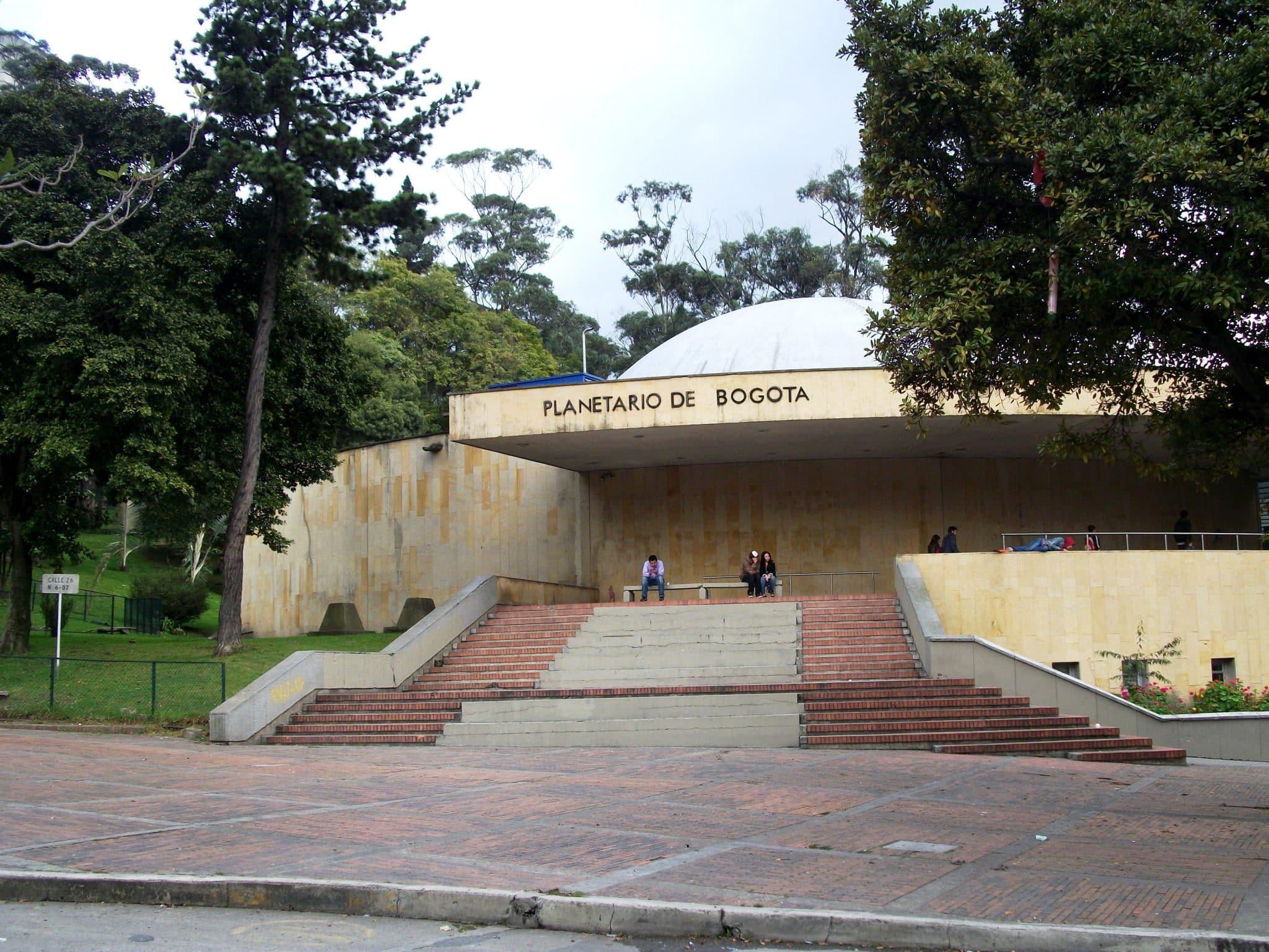 Le planétarium de Bogota
