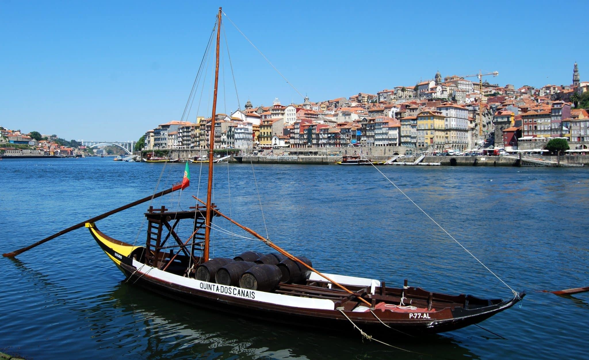 sea-wine-boat-river de porto