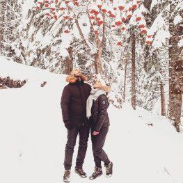 il.etait.une.fois couple sous la neige