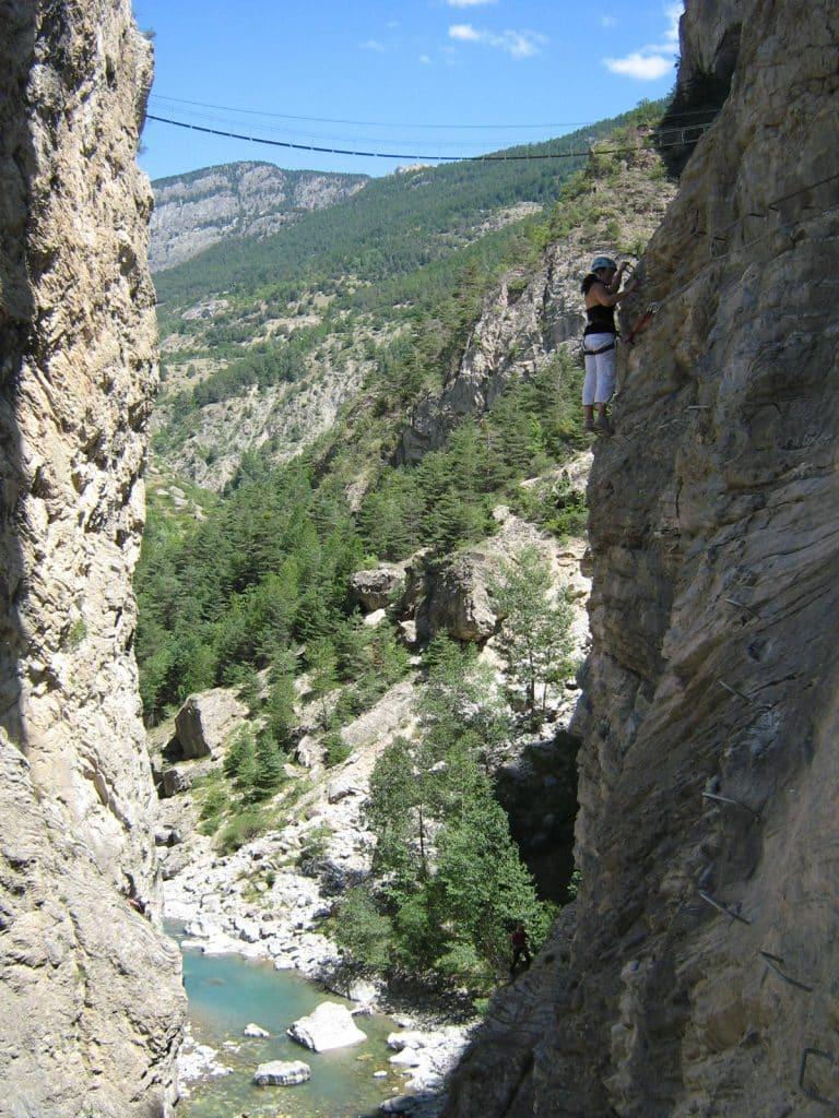 Les-via-ferratas-des-Gorges-de-la-Durance